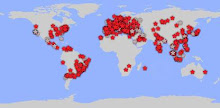 With this map you can see exactly where the visitors of IMPRENSA MARROM EM MARINGÁ are from. Live!