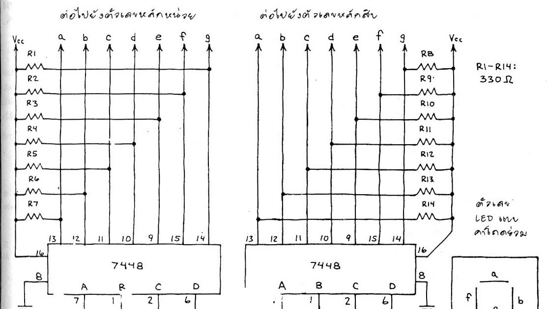 elektronika itu tanpa batas^^0 99 Two Digit Counter By Ic 74ls48 74ls90 #14