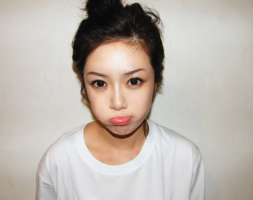 korean makeup tutorials. or Ulzzang+makeup+tutorial