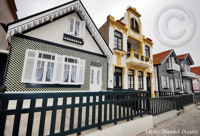 traditional houses of costa nova estuary of aveiro prata coast aveiro portugal ra de aveiro costa da prata costa nova aveiro portugal