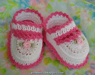 bebek yenimoda.blogspot.com4 0 3 Yas Kiz Cocuklari icin ayakkabi  Modelleri