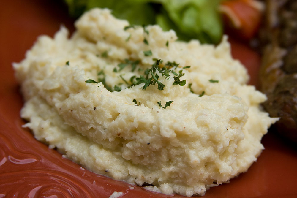 Cheesy Cauliflower Puree | Mommie Cooks!