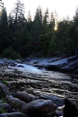 North fork of the stanislaus river in northern ca at for Stanislaus river fishing