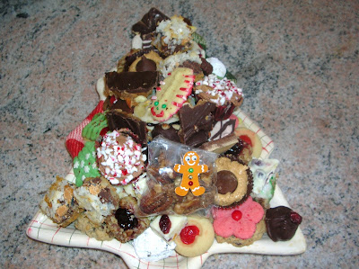 Christmas 2007 cookie platter