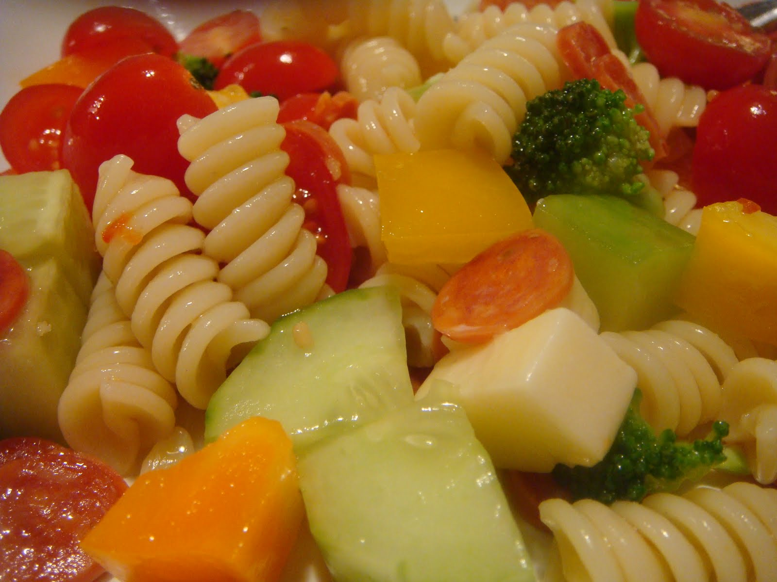 how to make pasta salad with mayonnaise easy