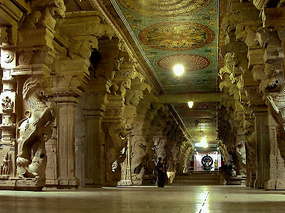 1000 Pillars Hall Thousand Pillar Hall Madurai Meenakshi Temple