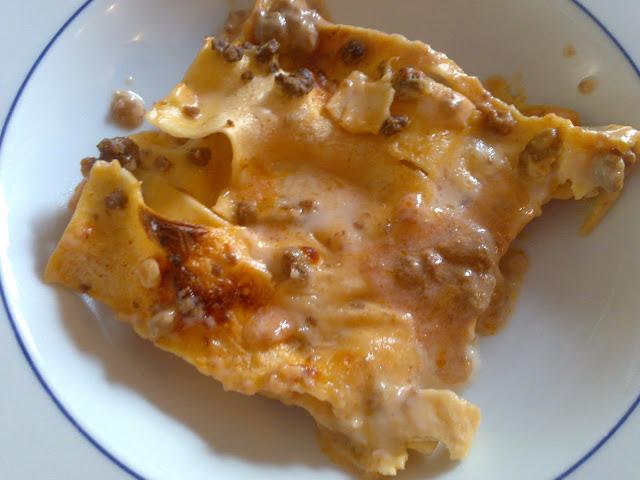 Lasagna al forno veloce for Sinonimo di veloce
