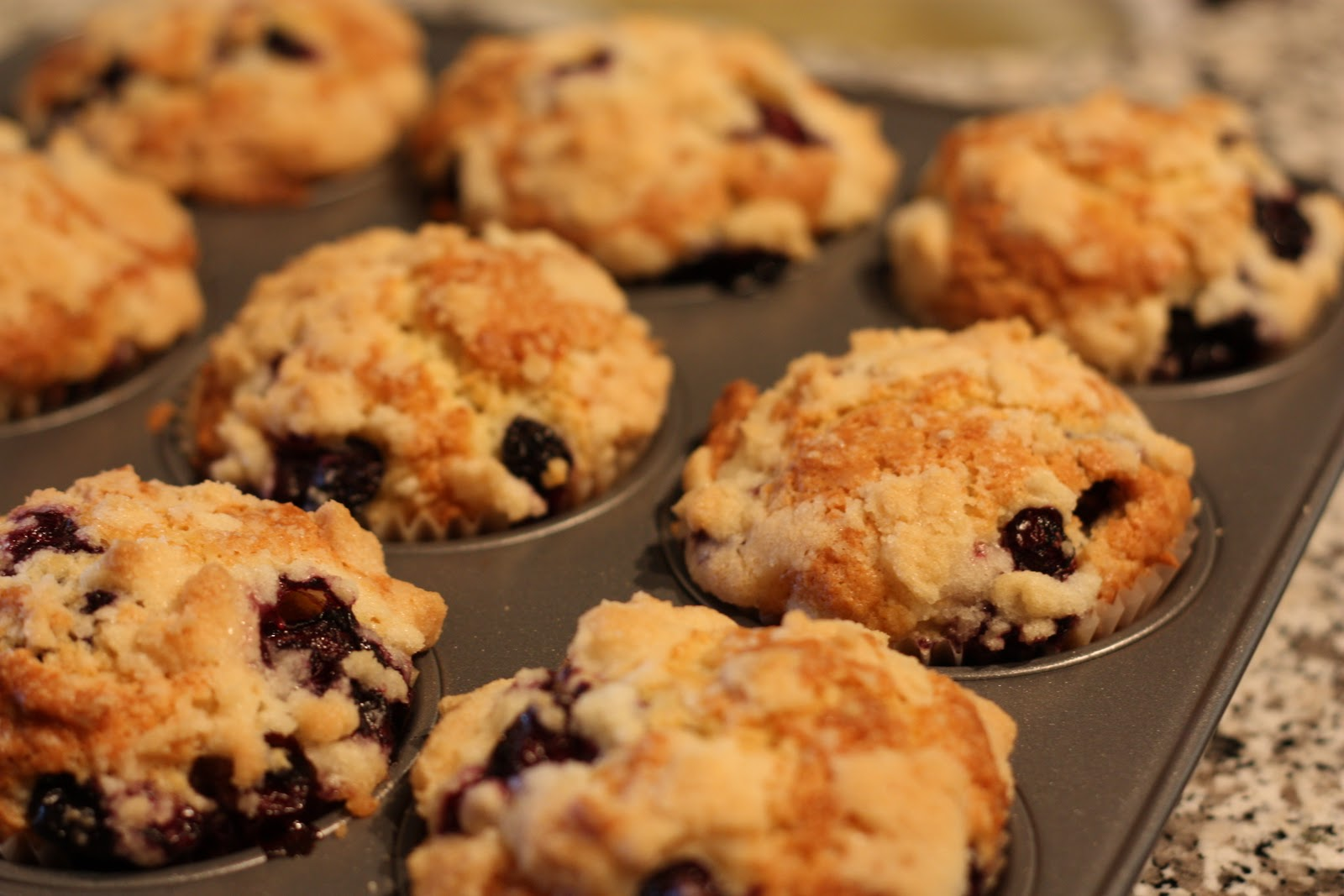 To Die For Blueberry Muffins - Food Junkie Chronicles