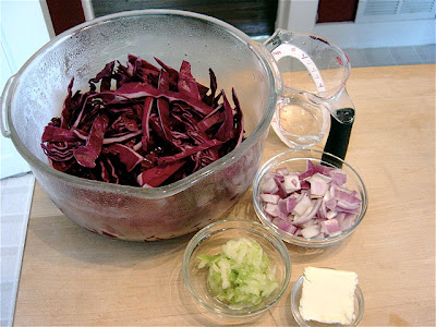 recipe: red cabbage in french [2]
