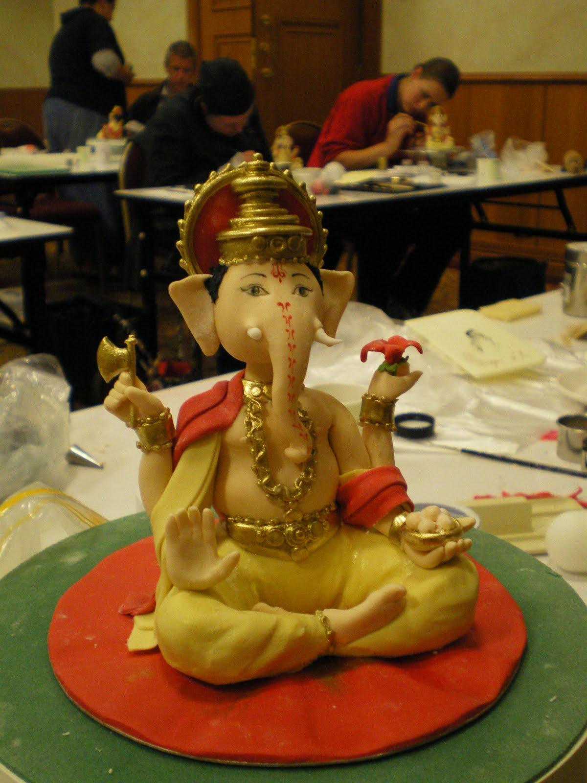 Ganesha Cake Images : Cake That!: Sneak Peek........ Debbie Brown Workshops