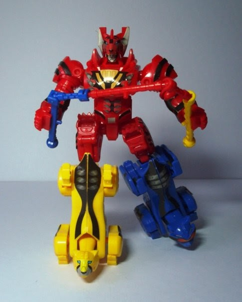 Power Rangers Jungle Fury Jungle Pride Megazord Toy Chronicles: PRJF -...