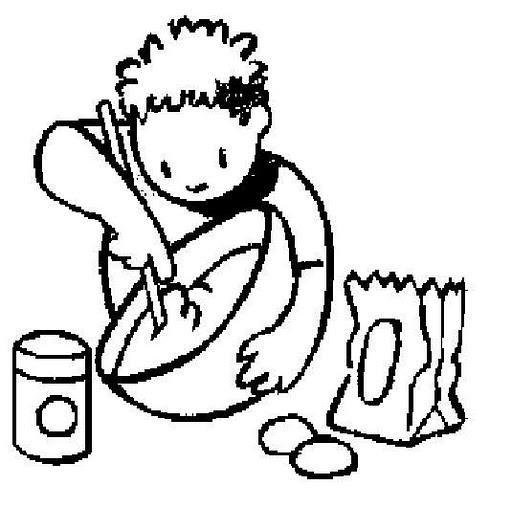 Preparados listos a cocinar fichas para colorear - Dibujos de cocina para pintar ...