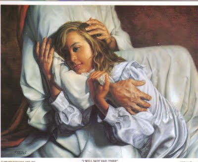 Jesus Comforting Pictures http://bluebirdyliving.blogspot.com/2009/12/kept-woman.html