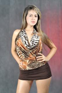 Fotos de Gisela Avendaño, Miss Tanga