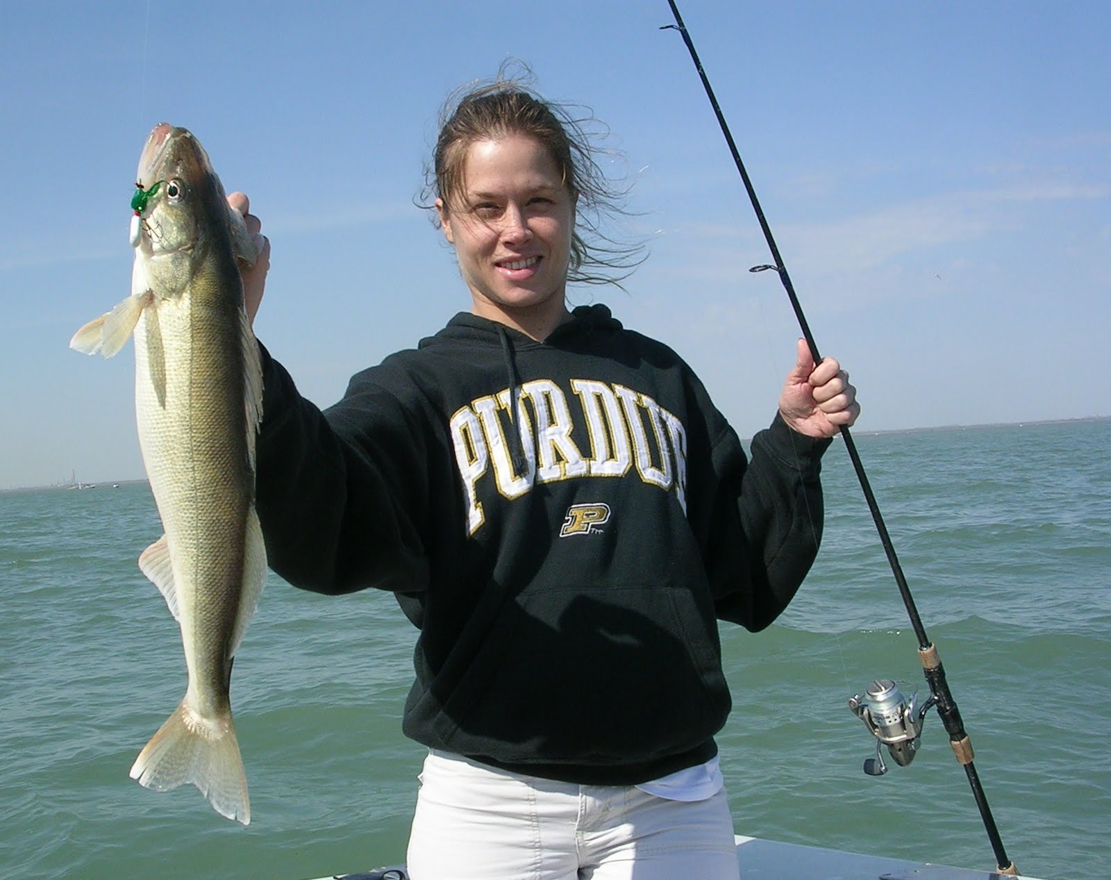Lake erie fishing erie quest for Lake erie perch fishing report central basin