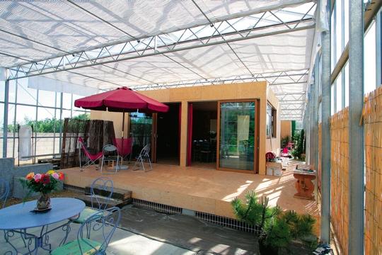 Un p 39 tit chez nous for Maison container loire atlantique