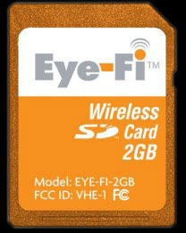 Eye-Fi Card, Wireless 2 GB SD Memory Card