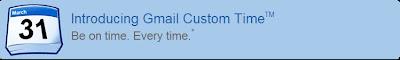 Gmail Custom Time