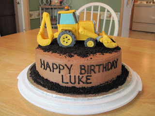 Heather S Cakes And Confections Backhoe And Digger