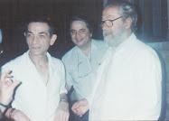 Bucuresti, Silvestru, 6 august 1998. Poetul printre prieteni, de ziua sa