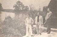 Cezar Ivănescu, Marin Preda, Mihai Ungheanu (de la stânga la dreapta)