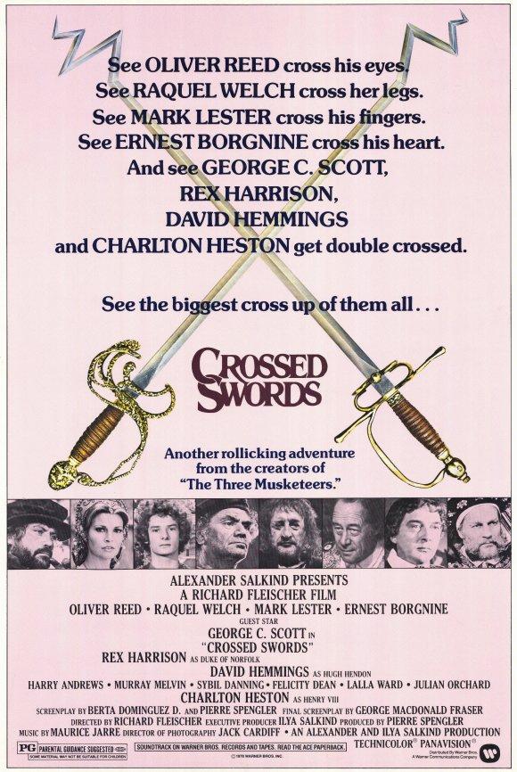 Every 70s Movie: Crossed Swords - 140.1KB