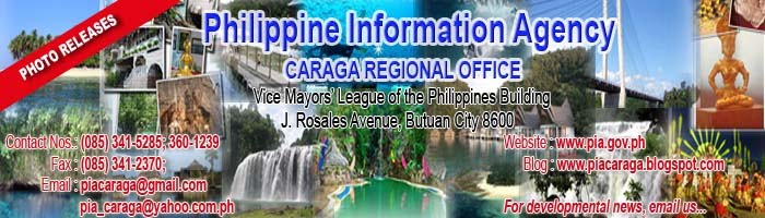 PIA Caraga Region Photo Releases