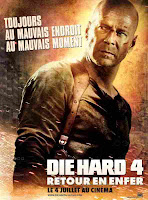 Parodie de 'Die Hard 4 - retour en enfer'
