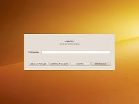 Diálogo de bloqueo modificado en Ubuntu