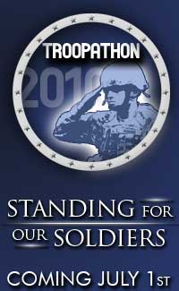SUPPORT OUR MILITARY!<br>WE SALUTE YOU!