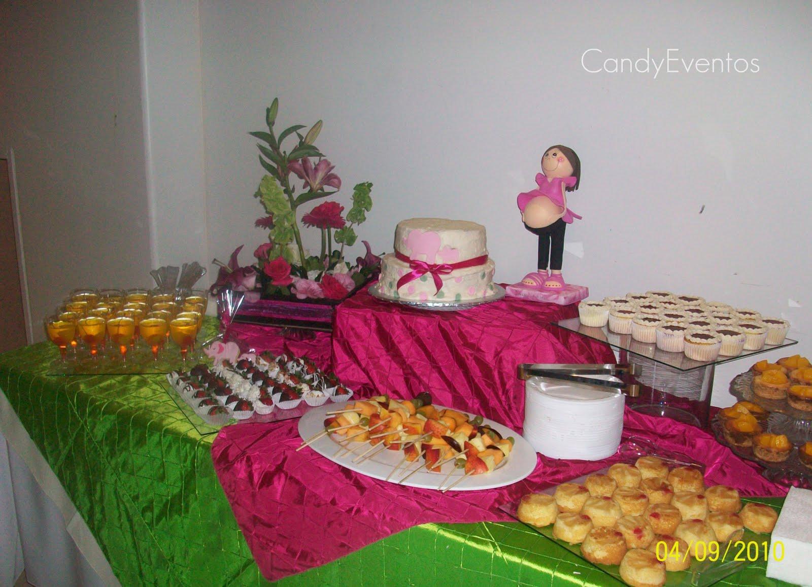 Cherry pasteleria creativa mesa de postres para baby shower for Mesa de postres baby shower