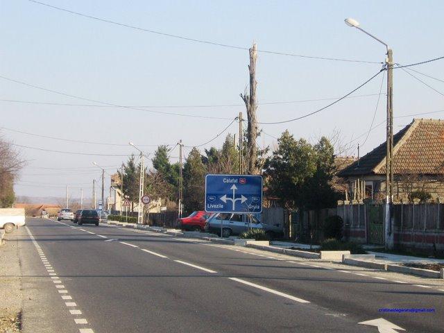 Comuna Rogova si DN 56 A spre Calafat
