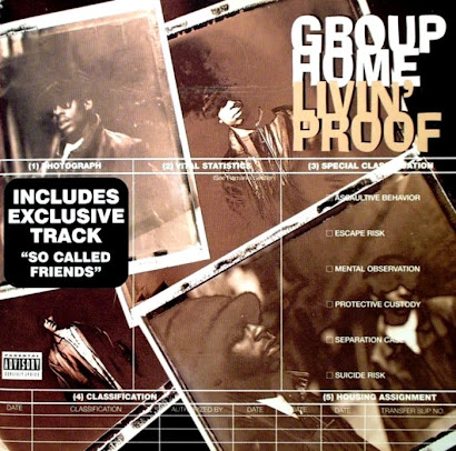 GROUP HOME - LIVIN' PROOF (1995)