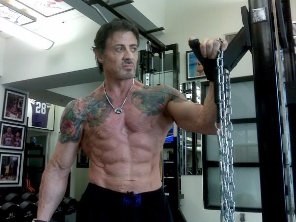 stallone tattoos