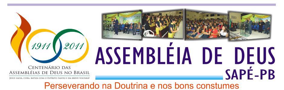 Assembleia de Deus em Sapé-PB