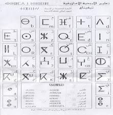 L'alphabet Tamazirt