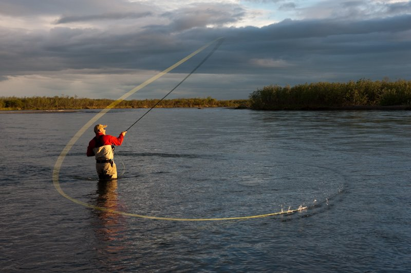 February 2013 spey times for Fly fishing casting techniques
