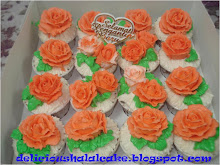 Cup cake hantaran - buttercream (16pcs/set)