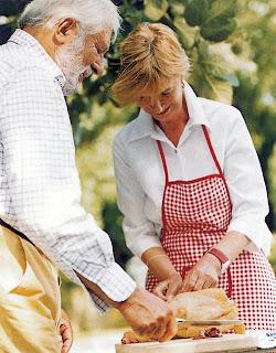 Wolfram Siebeck férj feleség Barbara Siebeck