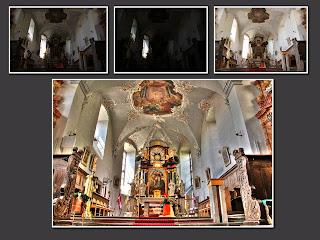 hdr suli zeil am main st michael kirche szent mihály templom oltár franken bajorország
