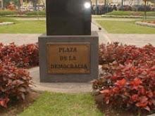 Plaza de la Democracia (Ex Banco de la Nación), Lima