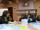 Lima, Octubre 2008: CR presenta avances del RUV a premier Yehude Simon
