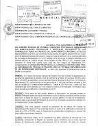 Apurímac, diciembre 2009: Decenas de Autoridades públicas y privadas entregan MEMORIAL en Lima