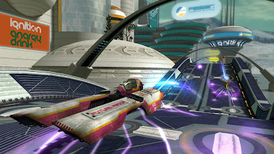 WipeOut HD Playstation 3 game screenshot 5