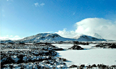 winter scene near Auchterness