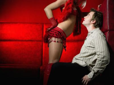lap dancing is an integral part of the relationship between town planners and developers