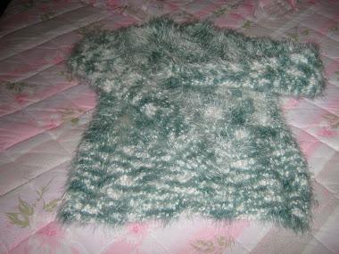 Uma Camisola deliciosa para os Invernos Frios