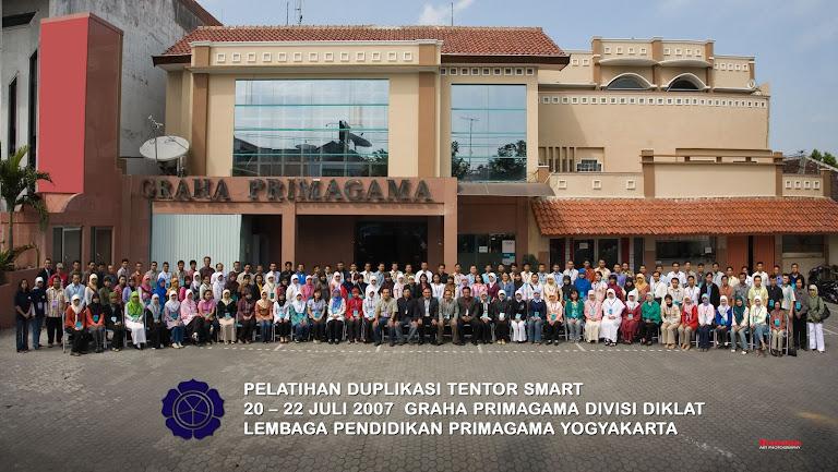 Diklat Tentor Primagama di Yogyakarta