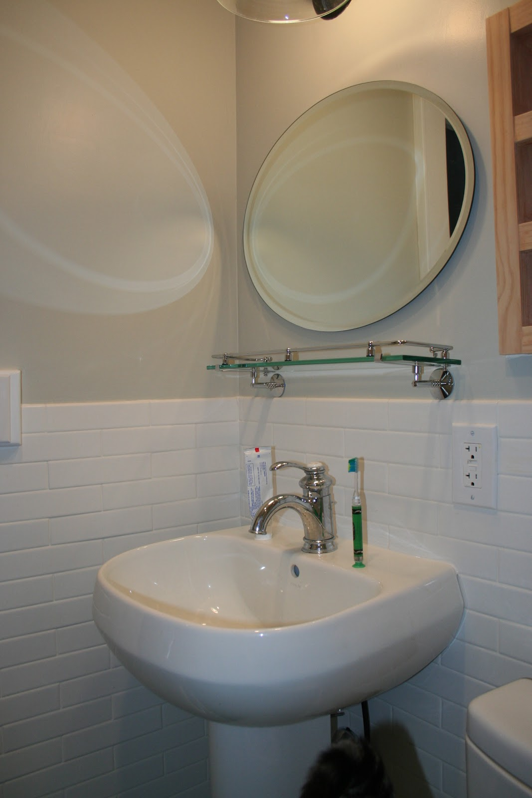 Another 100 year old house renovation: Bathroom reno completed