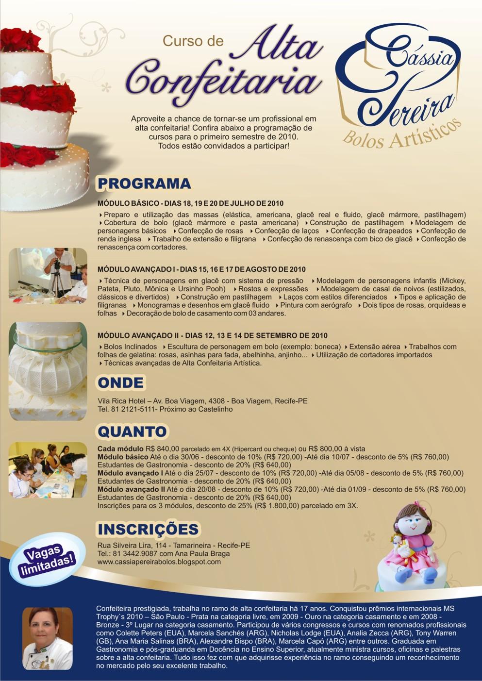Armario Organizador Para Area De Serviço ~ Cássia Pereira Bolos Artísticos Curso Alta Confeitaria